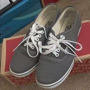 Vans grey color